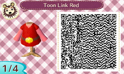 Toon Link Red