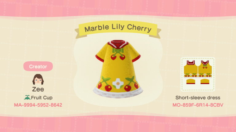 Marble Lily Cherry