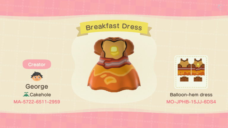 Breakfast Princess Dress