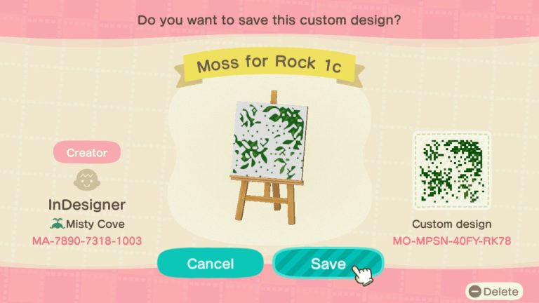 Moss For Rock 1c