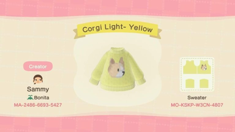 Corgi Light- Yellow