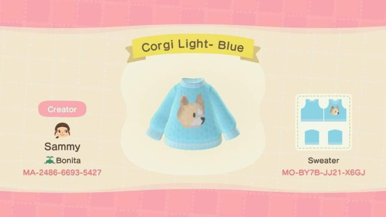 Corgi Light- Blue
