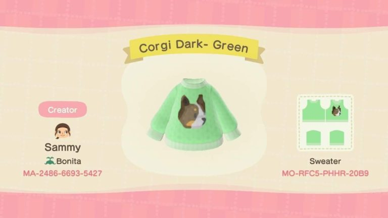 Corgi Dark- Green
