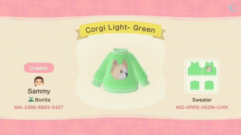 Corgi Light- Green