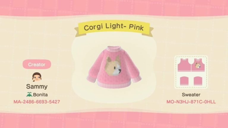 Corgi Light- Pink