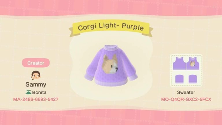 Corgi Light- Purple