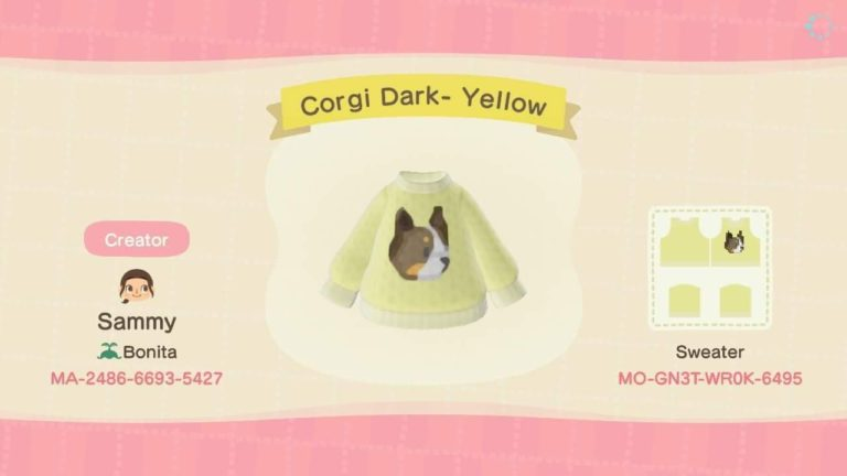 Corgi Dark- Yellow