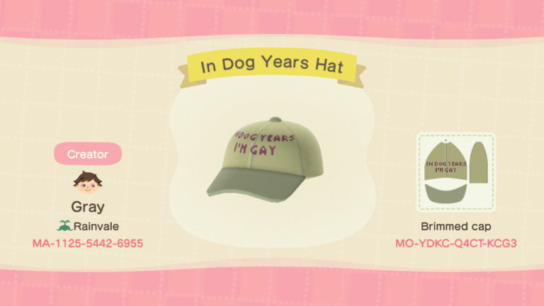 In dog years Hat