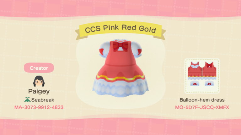 CCS Pink Red Gold
