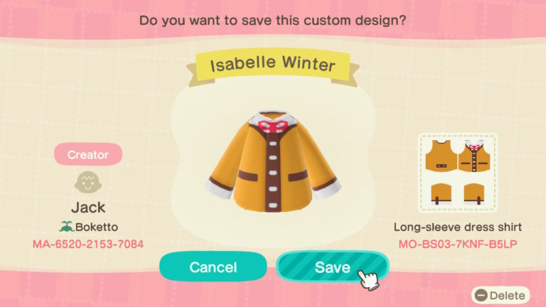 Isabelle's Winter Outfit