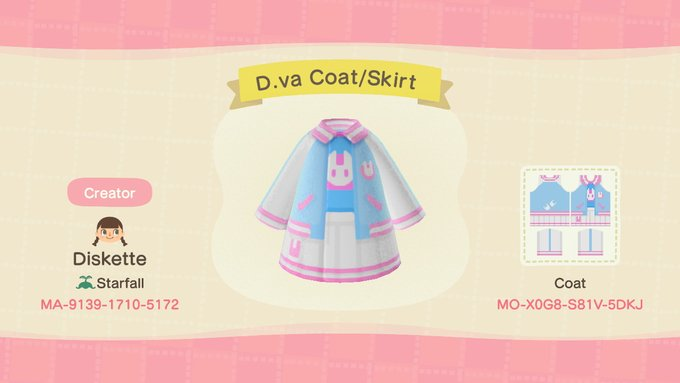 D.va coat/Skirt