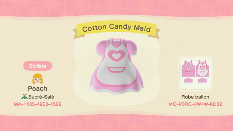 Cotton Candy Maid