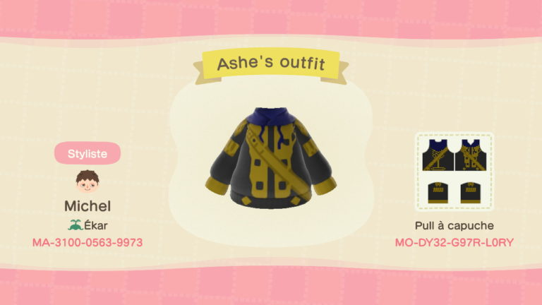 Ashe's outfit