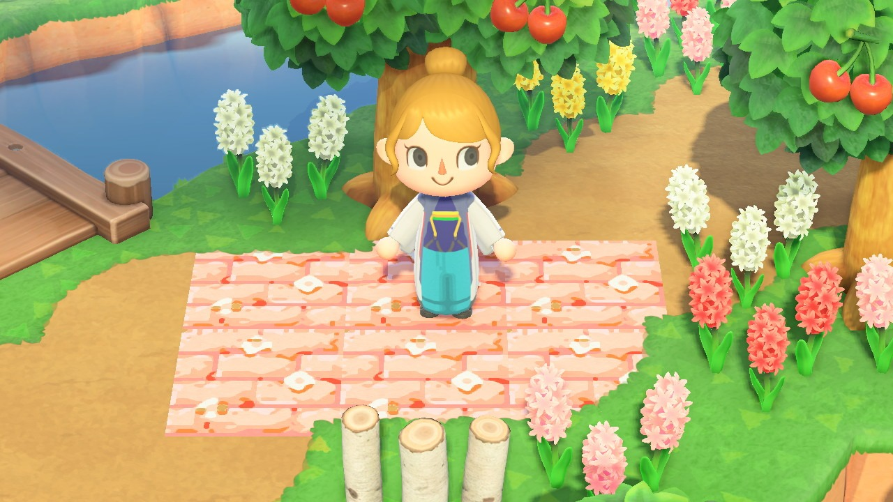 Why Do Designs Turn White When Deleted In Animal Crossing New