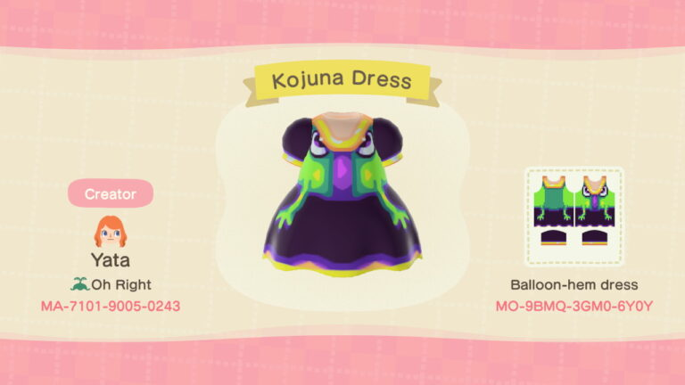 Kojuna Dress