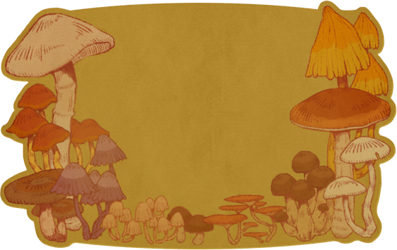 Mushroom Card - Animal Crossing: New Horizons