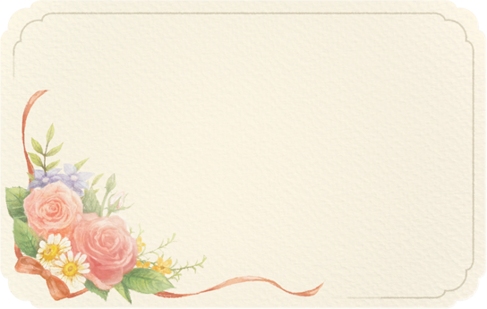 Flower-bouquet Card - Animal Crossing: New Horizons